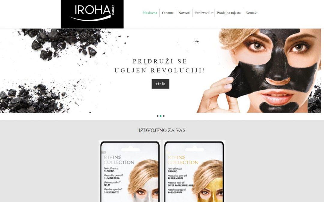 IROHA Nature – web stranica