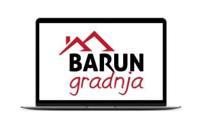 Barun gradnja – rebranding, logotip i web stranica
