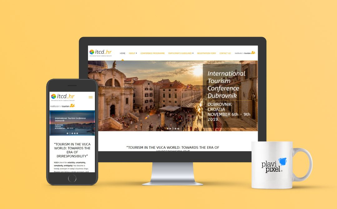 Branding and Website for International Tourism Conference Dubrovnik