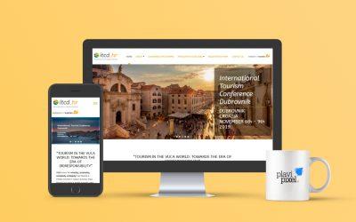 Branding and Website for International Tourism Conference Dubrovnik