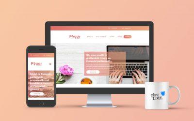 Kreiran branding i web stranica za Pyaar agenciju za odnose s javnošću