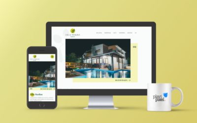 Branding and Web Site Villa Maslina