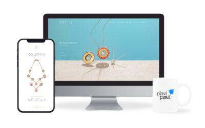 Izradili smo web stranicu za najpoznatijeg hrvatskog dizajnera nakita – Nenada Sovilja